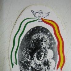 Affissi Fiera: PEGATINA VIRGEN PASTORA ROCIO Y MADRE. Lote 54574256
