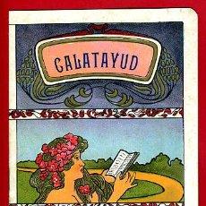 Carteles Feria: PROGRAMA FERIAS Y FIESTAS DE CALATAYUD , ZARAGOZA , 1907 , LITOGRAFIA , ANTIGUO ,ORIGINAL. Lote 34268222