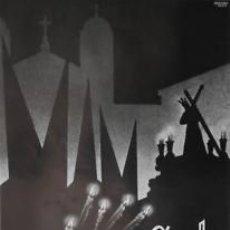 Carteles Feria: CARTEL CEUTA SEMANA SANTA 1969. GARZÓN. 43 X 64CM.. Lote 37820118