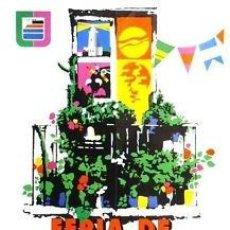 Carteles Feria: CARTEL FERIA DE MALAGA.1975. GUTIERREZ, M. 50 X 70 CM.. Lote 35266031