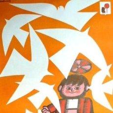 Carteles Feria: CARTEL FIESTAS SAN ISIDRO MADRID 1972.RAMON,JOSÉ.69X100. Lote 35311815