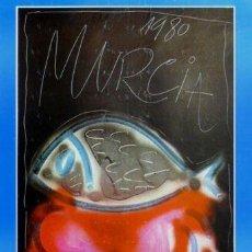 Carteles Feria: CARTEL FIESTAS PRIMAVERA MURCIA 1980.ROMERA.49 X 68 CM.. Lote 35311895