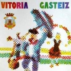 Carteles Feria: CARTEL FIESTAS VIRGEN BLANCA VITORIA 1970.ARREGUI.60X90. Lote 35323343