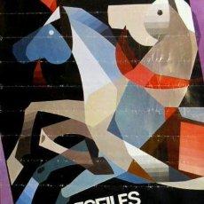 Carteles Feria: CARTEL LORCA.DESFILES BIBLICOS-PASION.1982.GARCIA.49X69. Lote 35324338
