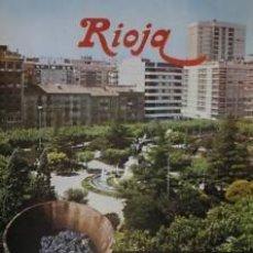 Carteles Feria: CARTEL RIOJA XVIIL FIESTA VENDIMIA. 1974. 44 X 65 CM.. Lote 53766532