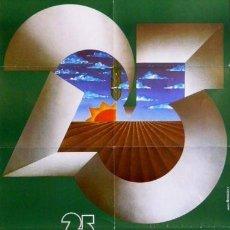Carteles Feria: CARTEL 25 ANIVERSARI LLEIDA'79. 1979. 50 X 70CM.. Lote 35415468
