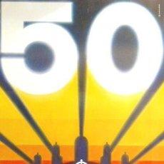 Carteles Feria: CARTEL 50 FIRA INTERNACIONAL DE MOSTRES.1982.66 X 95 CM. Lote 35415951