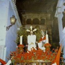 Carteles Feria: CARTEL ARCOS DE LA FRONTERA.SEMANA SANTA 1981.53 X 80CM. Lote 35431808