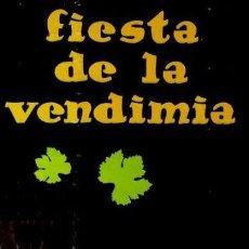 Carteles Feria: CARTEL FIESTA DE LA VENDIMIA TORO 1972.MARISOL. 50 X 72. Lote 35444943