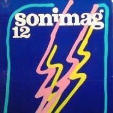Carteles Feria: CARTEL SONIMAG 12.1974. MORADELL. 47 X 69 CM.. Lote 35482476