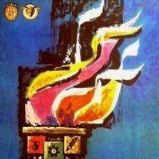 Carteles Feria: CARTEL XXX FERIA BARCELONA.1962.GIRALT MIRACLE.62X99 CM. Lote 35520734