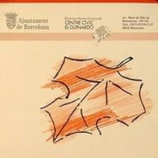 Carteles Feria: RONDA DEL GUINARDO. FESTES DE TARDOR. 1985. BONANY. 32 X 49 CM. BARCELONA. Lote 35566099