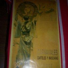Carteles Feria: CARTEL DE CARNAVALES DE ALICANTE AÑO 1990. Lote 35659561