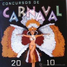 Carteles Feria: CONCURSOS DE CARNAVAL 2010 ALICANTE-VER FOTO ADICIONAL. Lote 35850934