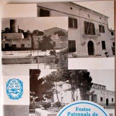 Carteles Feria: PROGRAMA FESTES PATRONALS DE SANT MARÇAL (MARRATXI, 1985) . Lote 36101724