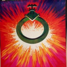 Carteles Feria: CARTEL FALLAS VALENCIA 1981, ORIGINAL DE ÉPOCA . 100X62 CM. Lote 37139985