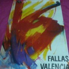 Carteles Feria: FALLAS DE VALENCIA 1983. FORMATO GRANDE. Lote 37226756