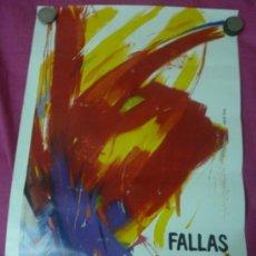 Carteles Feria: FALLAS DE VALENCIA DE 1983. FORMATO MEDIANO. Lote 37226828