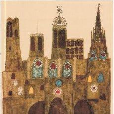 Carteles Feria: FIESTAS DE LA MERCED BARCELONA 1963. Lote 37525951