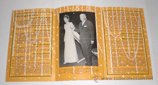 Carteles Feria: Programa Oficial (cuadriptico) - Carnaval de Cadiz - 1966 (excelente conservación) - Foto 2 - 38158077