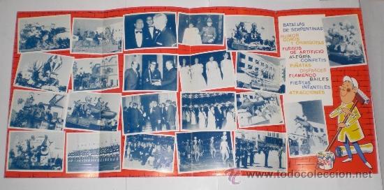 Carteles Feria: Programa Oficial (cuadriptico) - Carnaval de Cadiz - 1972 (excelente conservación) - Foto 2 - 38158463