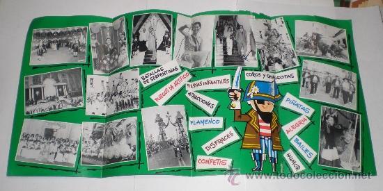 Carteles Feria: Programa Oficial (cuadriptico) - Carnaval de Cadiz - 1976 (excelente conservación) - Foto 2 - 38158932