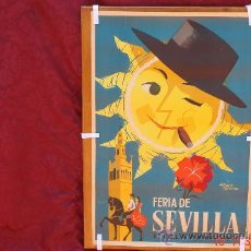Carteles Feria: ANTIGUO CARTEL DE FERIA AÑO1965-ALVARES GOMEZ. Lote 59864158