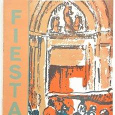 Carteles Feria: PROGRAMA DE LAS FIESTAS PATRONALES DE POLLENSA (POLLENÇA) 1975 . Lote 38610152