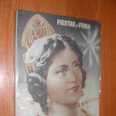 Affissi Fiera: FIESTAS Y FERIA. JATIVA. PROGRAMA FICIAL.- AÑO 1949. L10236.. Lote 39206271
