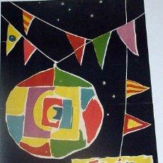 Carteles Feria: ANTIGUO CARTEL DE JAEN FERIA DE SAN LUCAS 1960, ILUSTRADO POR F. MESA – MIDE 49 X 30 CMS.. Lote 38281134