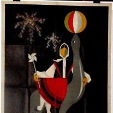 Carteles Feria: ANTIGUO CARTEL DE VALLADOLID FERIAS Y FIESTAS, DEL 7 AL 21 DE SEPTIEMBRE DE 1958, ILUSTRADO POR CARR. Lote 38281232