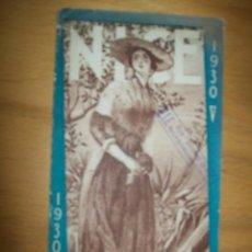 Carteles Feria: NICE -PROGRAMME DES FETES 1930. Lote 41307341