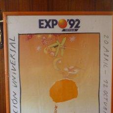 Carteles Feria: MAGNIFICO CARTEL EXPO 92, SEVILLA. Lote 42026326