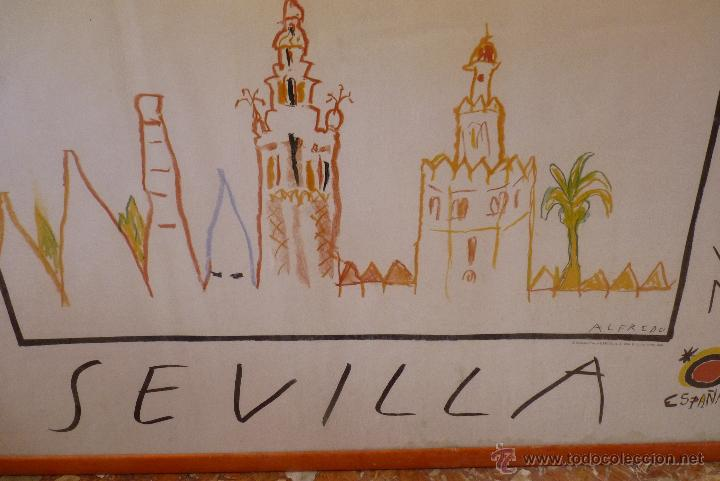Carteles Feria: MAGNIFICO CARTEL EXPO 92, SEVILLA - Foto 5 - 42026326