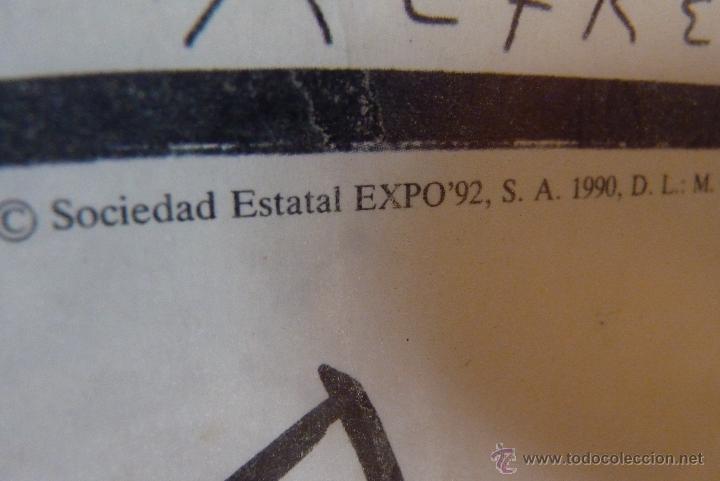 Carteles Feria: MAGNIFICO CARTEL EXPO 92, SEVILLA - Foto 6 - 42026326