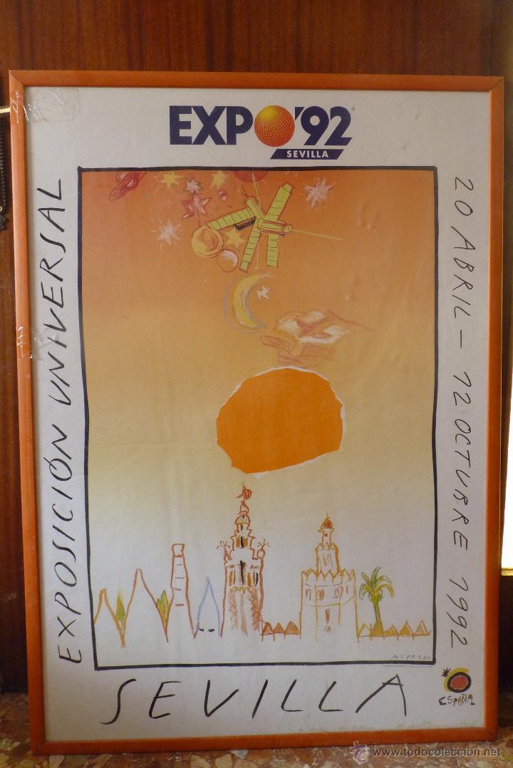 Carteles Feria: MAGNIFICO CARTEL EXPO 92, SEVILLA - Foto 9 - 42026326