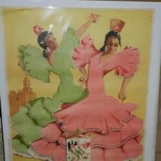 Carteles Feria: (M) CARTEL PRIEGO DE CORDOBA , REAL FERIA DE SEPTIEMBRE 1958 ( ORIGINAL ) 100 X 64 CM,. Lote 43099242