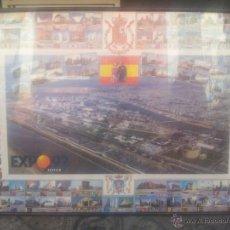 Carteles Feria: CARTEL EXPO 92 PABELLONES . Lote 43346926
