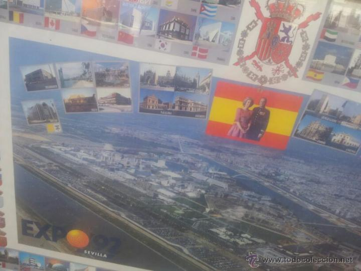 Carteles Feria: cartel expo 92 pabellones - Foto 2 - 43346926
