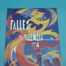 Carteles Feria: CARTEL FALLES DE VALÈNCIA. 1998. FORMATO 34,5 X 49 CM. Lote 43440483