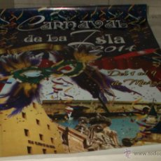 Carteles Feria: CARTEL CARNAVAL DE SAN FERNANDO MARZO 2014. Lote 44161463