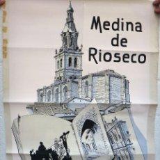 Carteles Feria: CARTEL TURISMO , FERIA MEDINA DE RIOSECO , VALLADOLID , ORIGINAL , H. Lote 44286228