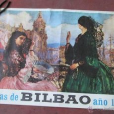 Carteles Feria: FIESTAS BILBAO 1967. Lote 45520704