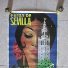 Carteles Feria: CARTEL 68 X 46. CM. FERIA DE SEVILLA 1973. Lote 152994572