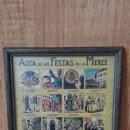 Carteles Feria: AUCA DE LAS FIESTAS DE LA MERCE 1971. Lote 47382458