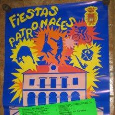 Carteles Feria: CARTEL FIESTAS PATRONALES VILLARCAYO 89. Lote 47429291