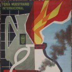 Carteles Feria: CARTEL 2ª FERIA DE LA CERAMICA VALENCIA 1963 - ( A. PERIS ) LITOGRAFIA. Lote 48147342