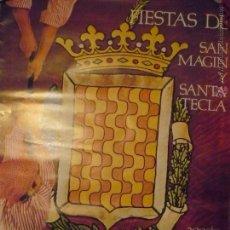 Carteles Feria: POSTER FIESTAS STA.TECLA TARRAGONA 1975 BB--¡¡¡RECOGER EN MANO O SE MANDA DOBLADO¡¡¡. Lote 48531192