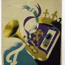 Carteles Feria: CARTEL ORIGINAL. FIESTAS DE SAN ISIDRO. MADRID. 1952 ILUSTRADOR: MAIRATA. 100 X 70 CM.. Lote 48649348