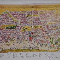 Carteles Feria: CARTEL DE LA ALDEA DE EL ROCÍO.. Lote 48690299